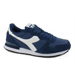 DIADORA-Camaro-Leather-sneakers-FABRIC-LEATHER-NAVY-WHITE