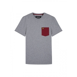 T-shirt contrast Lyle & Scott