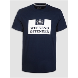 T-shirt prison Weekend Offender