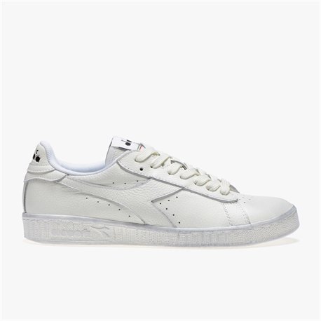 diadora game l low bianca