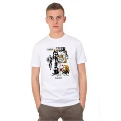 T-shirt casual romance Three Stroke