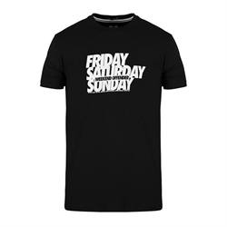 T-shirt friday saturday sunday Weekens Offender