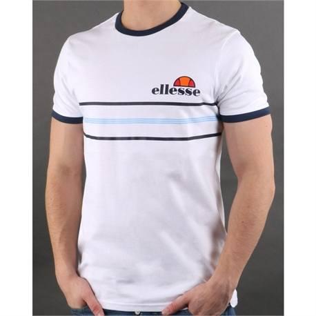 ellesse gentario t-shirt white