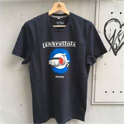 T-shirt lambrettista navy