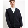 KN1116V CARDIGAN CONTRAST LYLE AND SCOTT