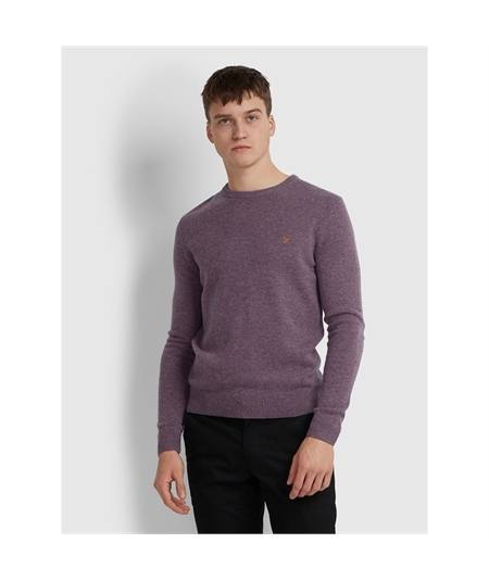 FEFG0124 viola maglias lana