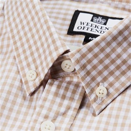 GINGHAM CAMICIA QUADRETTI WEEKEND OFFENDER