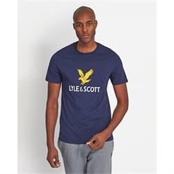 TS1020V_Z99 Stampa logo t-shirt lyle scott