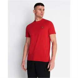 TS400V_Z799 T-SHIRT GIROCOLLO LYLE SCOTT