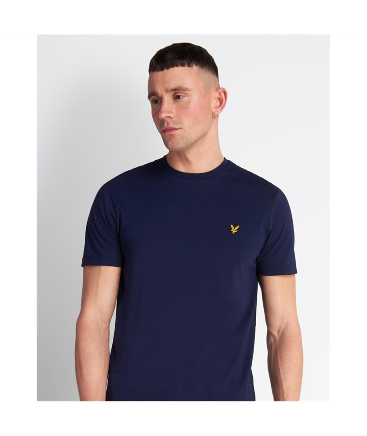 TS400V_Z99 T-SHIRT GIROCOLLO LYLE SCOTT