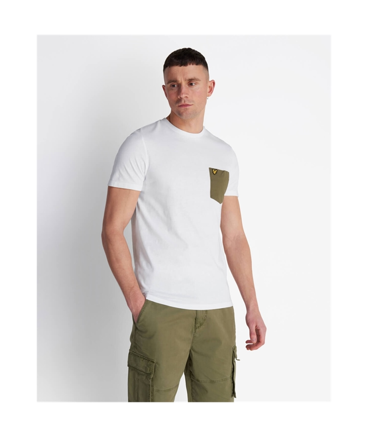 TS831V_Z828 T-SHIRT LYLE SCOTT