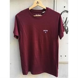 t-shirt cotone organico life style ricamo