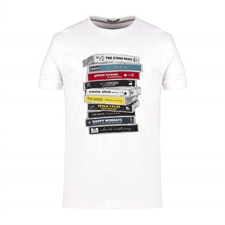 CASSETTES t.shirt cassette oasis stone roses weekend offender