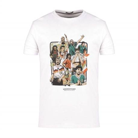 PLAYERS t-shirt giocatori monadili italia 90 weekend offender