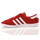 Scarpa adidas hamburg rosso red stripes
