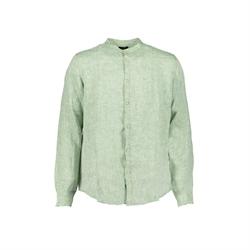 camicia lino verde