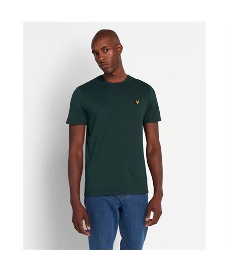 TS400V_Z597 jade green lyle scott t-shirt casuals