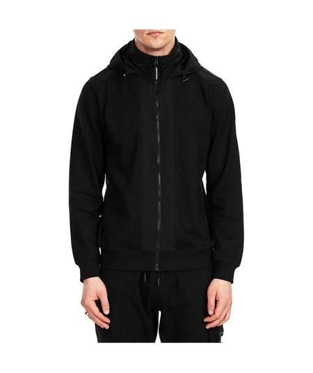 Felpa giacca zip cappuccio bracco weekend offender
