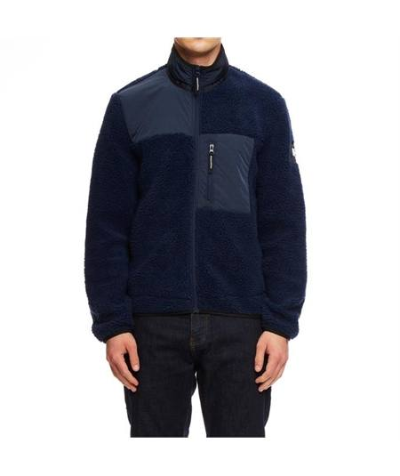 jacket felpa pile cordoba casuals weekend offender navy