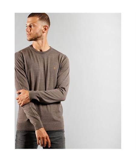 farah mullen knit rich grey maglia lana made in italy casuals