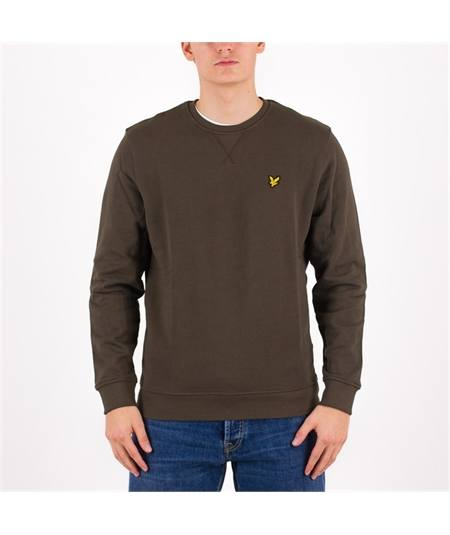 felpa ml424vtr trek green lyle scott girocollo casuals