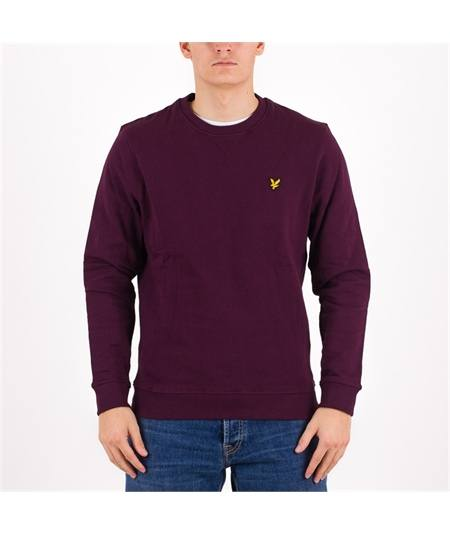 ml1131 felpa bordeaux lyle scott casuals brushed