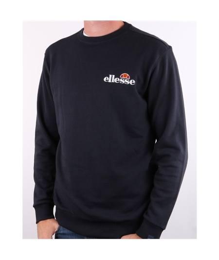 felpa fierro girocollo ellesse-emb-logo-sweatshirt-navy blu
