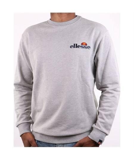 felpa fierro ellesse-emb-logo-sweatshirt-grey-marl