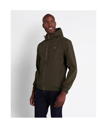 Giacca soft shell lyle & Scott trek green