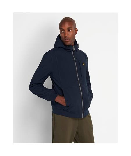 Giacca soft shell lyle & Scott dark navy