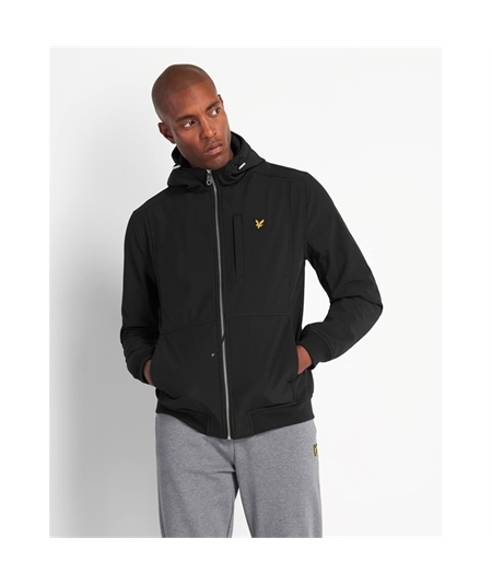 JK1214V giacca softshell Lyle scott black nero