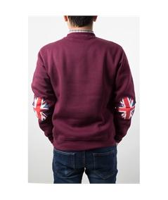 Felpa life style toppa gran bretagna inglese casuals