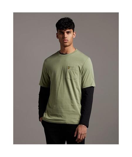 TS1364V_t-shirt lyle scott moss