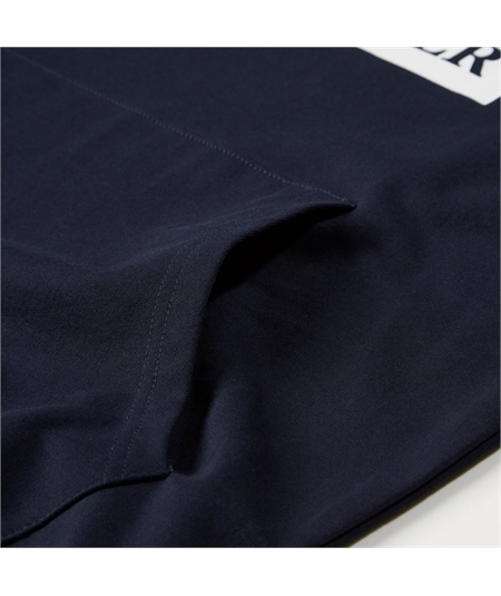 Felpa logo weekend offender basic casuals navy blu