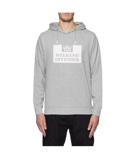 WOHD100 felpa weekend offender grey
