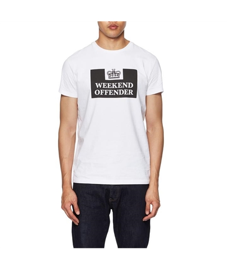 WOTS100 prison t-shirt weekend offender white