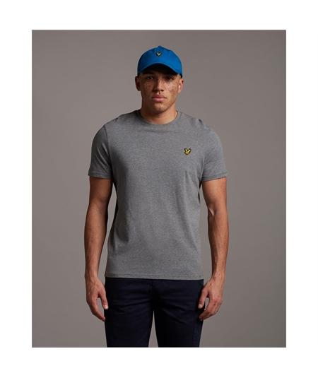 TS400V mid grey t-shirt lyle scott