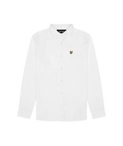 LW1224V_626 camicia lino lyle scott bianco white 3