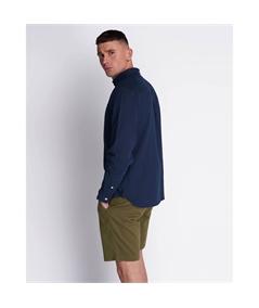 LW1224V_Z99 camicia lino lyle scott blu navy 3