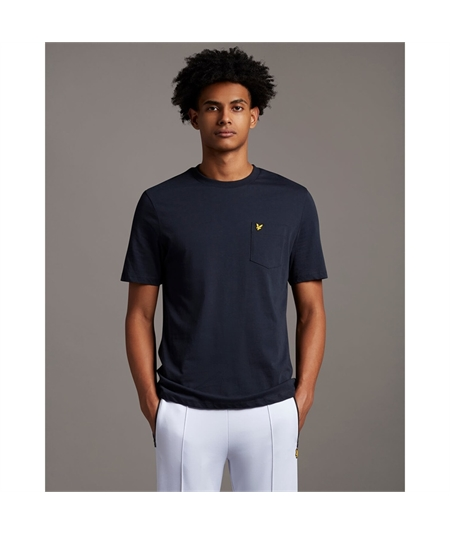 TS1364V_ t-shirt lyle scott taschino dark navy