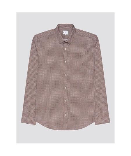 63480 camicia geo print manica lunga Ben Sherman 4