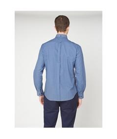 59141 camicia check bicolor ben sherman plum 3