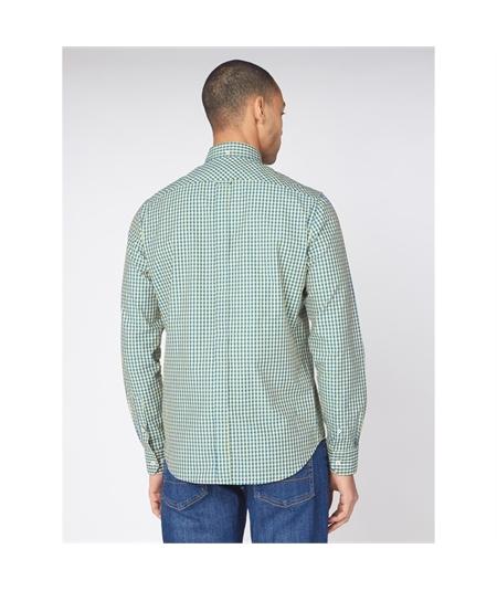 59141 camicia check bicolor ben sherman yellow 3