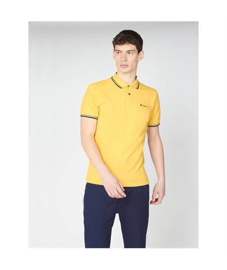 59310 polo basica ben sherman yellow