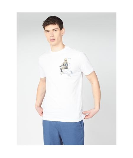 64045 t-shirt doodle mod ben Sherman