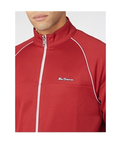 0063357 track top jacket ben sherman red 3