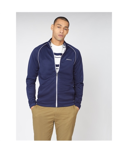 0063357 track top jacket ben sherman navy 1