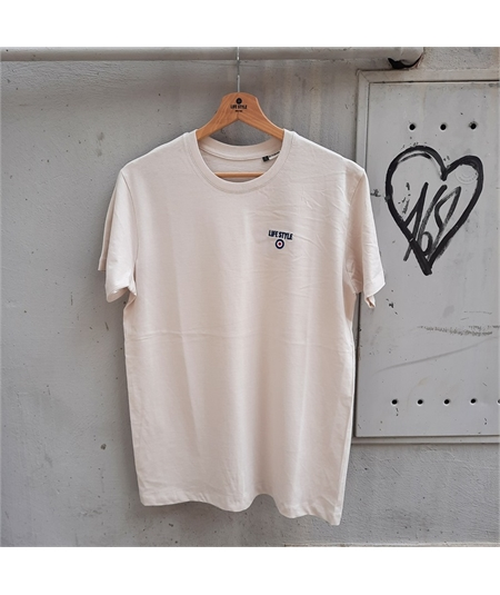 t-shirt ricamo life style off white 1