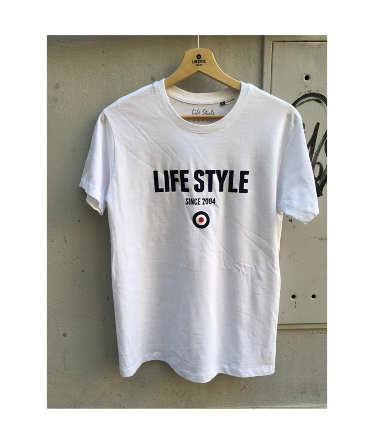 t-shirt life style floccato target mods casuals