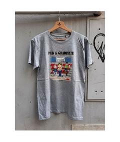 T-shirt pub e gradinate life style grigio 1